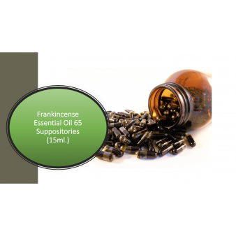 Frankincense Oil Suppository (65 Suppositories) 15ml