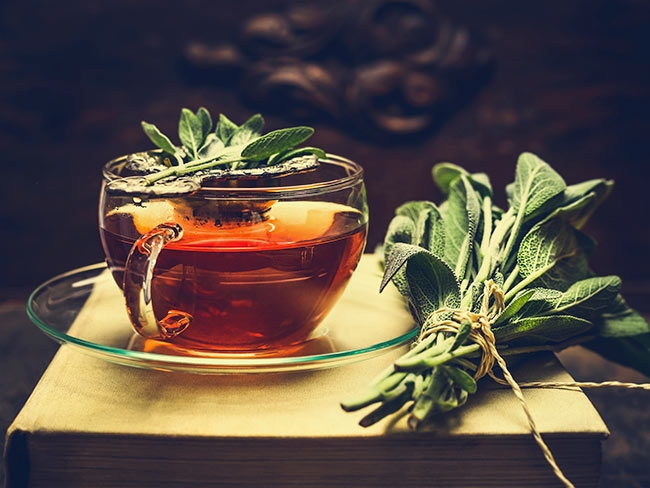 The Health Cure Sage Tea