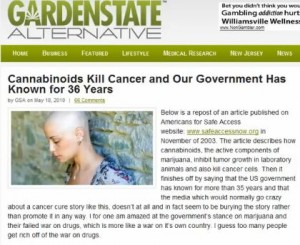 Cannabinoids Kill Cancer