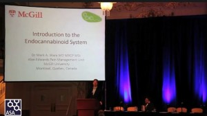 Dr. Mark Ware on the Endocannabinoid System