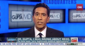 Dr. Sanjay Gupta Marijuana can be safer than narcotics