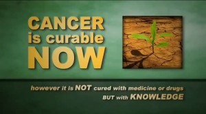 Cancer is Curable Now