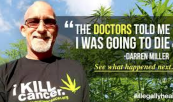 "Man With ""Terminal"" Lung Cancer Cures Himself With Cannabis Oil"