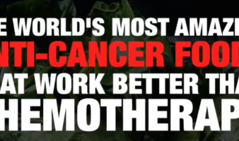 The world's most amazing anti-cancer foods that work BETTER than chemotherapy