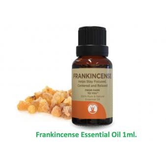 The Health Cure Frankincense Oil 1ml.